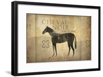 Cheval Noir v4-Ryan Fowler-Framed Art Print