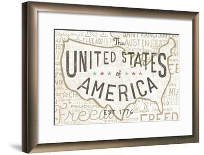 Road Trip USA-Oliver Towne-Framed Art Print
