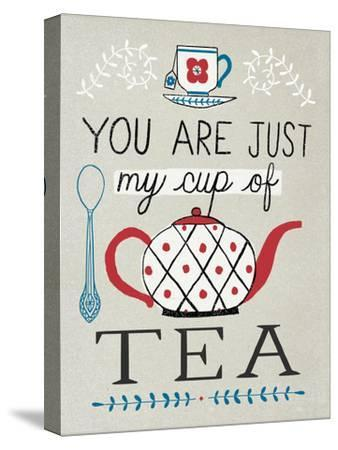 Cup of Tea-Oliver Towne-Stretched Canvas Print