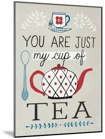Cup of Tea-Oliver Towne-Mounted Premium Giclee Print