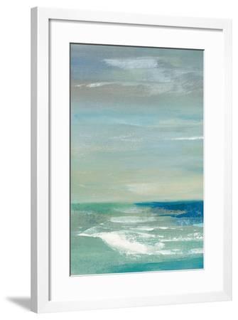 Early Morning Waves I Panel I-Silvia Vassileva-Framed Art Print