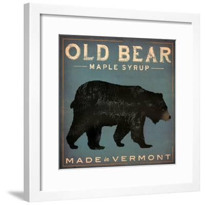Old Bear-Ryan Fowler-Framed Art Print
