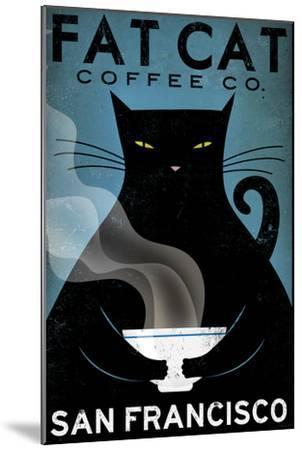 Cat Coffee-Ryan Fowler-Mounted Art Print