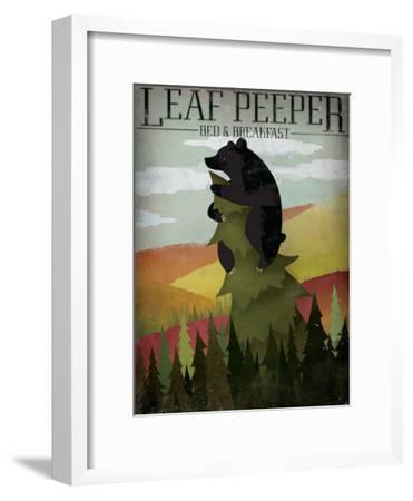 Leaf Peeper-Ryan Fowler-Framed Art Print
