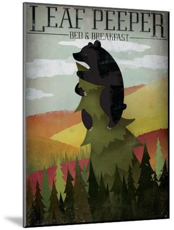 Leaf Peeper-Ryan Fowler-Mounted Art Print