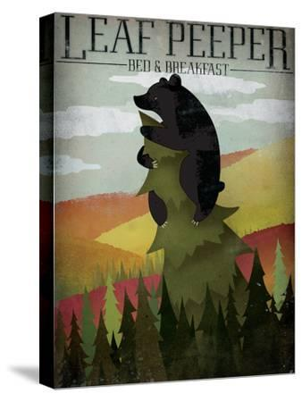 Leaf Peeper-Ryan Fowler-Stretched Canvas Print