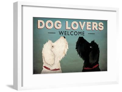 Doodle Dog Lovers Welcome-Ryan Fowler-Framed Art Print