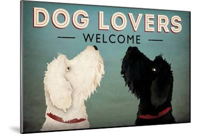 Doodle Dog Lovers Welcome-Ryan Fowler-Mounted Art Print