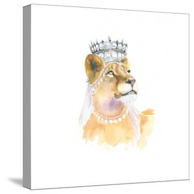 Jungle Royalty II-Myles Sullivan-Stretched Canvas Print