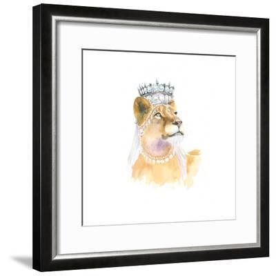 Jungle Royalty II-Myles Sullivan-Framed Art Print