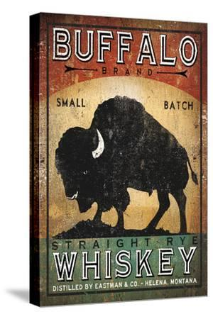 Buffalo Whiskey-Ryan Fowler-Stretched Canvas Print