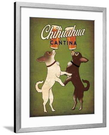 Double Chihuahua v2-Ryan Fowler-Framed Art Print
