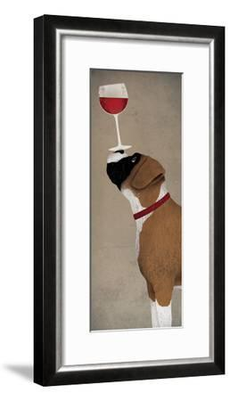Boxer Wine - No Words-Ryan Fowler-Framed Art Print