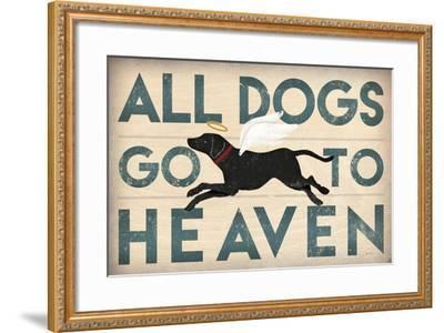 All Dogs Go to Heaven I-Ryan Fowler-Framed Art Print