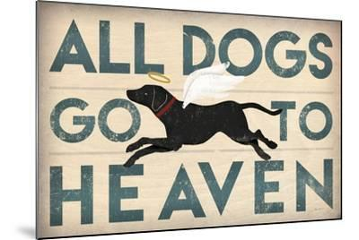 All Dogs Go to Heaven I-Ryan Fowler-Mounted Art Print