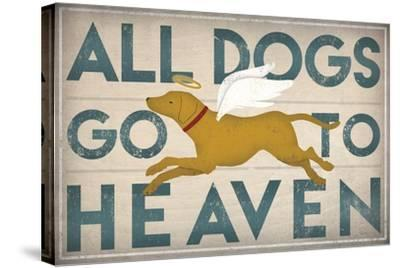 All Dogs Go to Heaven III-Ryan Fowler-Stretched Canvas Print