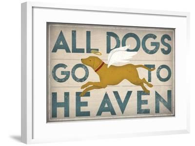 All Dogs Go To Heaven Iii Art Print By Ryan Fowler Artcom