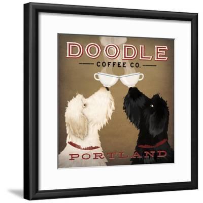 Doodle Coffee Double IV Portland-Ryan Fowler-Framed Premium Giclee Print