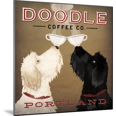 Doodle Coffee Double IV Portland-Ryan Fowler-Mounted Premium Giclee Print