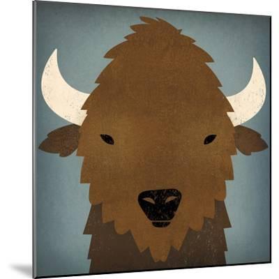 Buffalo II-Ryan Fowler-Mounted Art Print