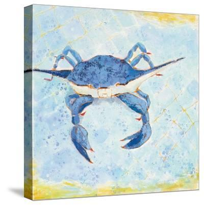 Blue Crab VI-Phyllis Adams-Stretched Canvas Print