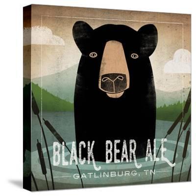 Skinny Dip Black Bear Ale-Ryan Fowler-Stretched Canvas Print