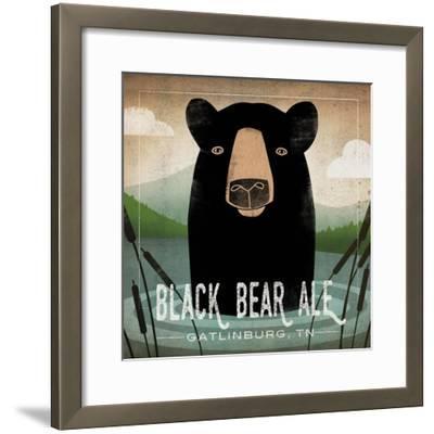 Skinny Dip Black Bear Ale-Ryan Fowler-Framed Art Print