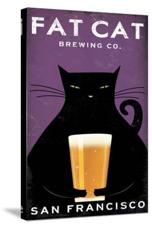 Cat Brewing-Ryan Fowler-Stretched Canvas Print