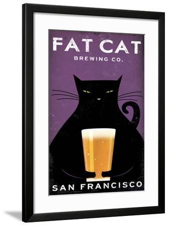 Cat Brewing-Ryan Fowler-Framed Art Print
