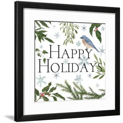 Peace and Joy III-Sara Zieve Miller-Framed Art Print