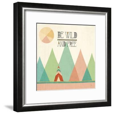 Southwest Geo II-Veronique Charron-Framed Art Print