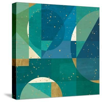 Geo Contour III-Veronique Charron-Stretched Canvas Print