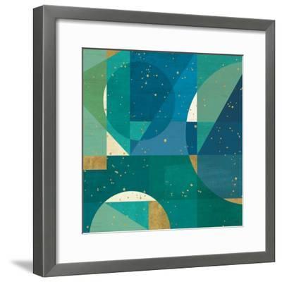Geo Contour III-Veronique Charron-Framed Art Print