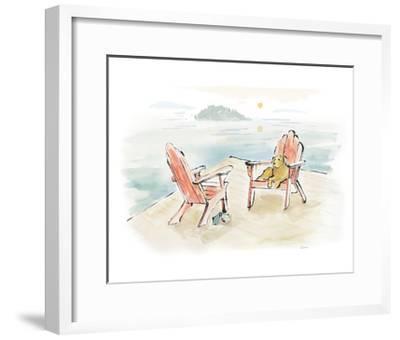Lakeside Days I-Sue Schlabach-Framed Art Print