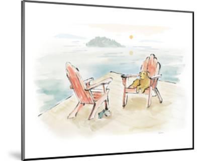 Lakeside Days I-Sue Schlabach-Mounted Art Print
