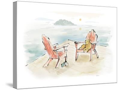 Lakeside Days I-Sue Schlabach-Stretched Canvas Print