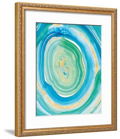 Terrain Gilded II Crop Center.-Sue Schlabach-Framed Art Print