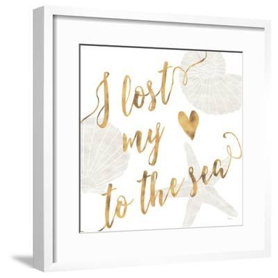 To the Sea I-Veronique Charron-Framed Art Print