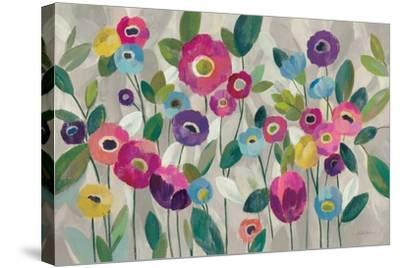 Fairy Tale Flowers V Pink-Silvia Vassileva-Stretched Canvas Print