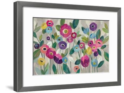Fairy Tale Flowers V Pink-Silvia Vassileva-Framed Art Print