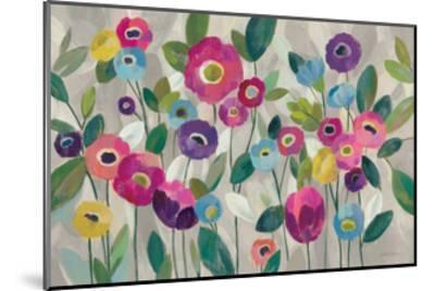 Fairy Tale Flowers V Pink-Silvia Vassileva-Mounted Art Print