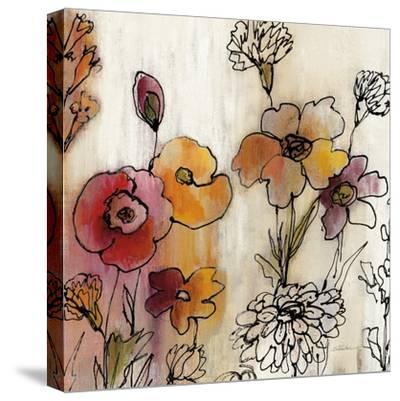 Contemporary Botanical Cream III-Silvia Vassileva-Stretched Canvas Print