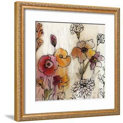 Contemporary Botanical Cream III-Silvia Vassileva-Framed Art Print