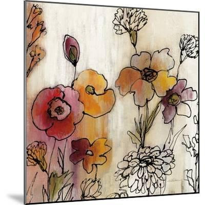 Contemporary Botanical Cream III-Silvia Vassileva-Mounted Art Print