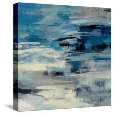 Indigo Wave-Silvia Vassileva-Stretched Canvas Print