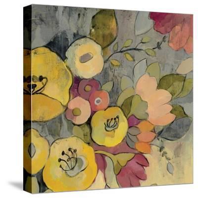 Yellow Floral Duo I Crop-Silvia Vassileva-Stretched Canvas Print