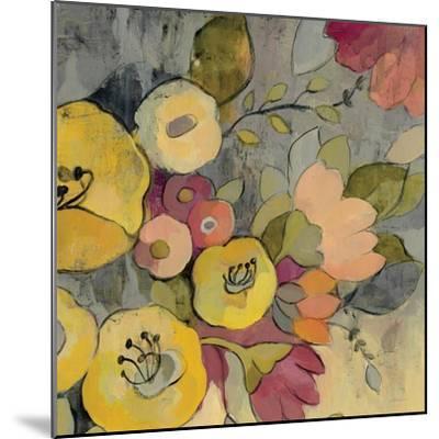 Yellow Floral Duo I Crop-Silvia Vassileva-Mounted Art Print