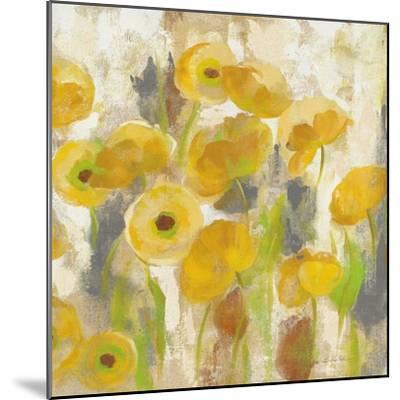 Floating Yellow Flowers V-Silvia Vassileva-Mounted Art Print