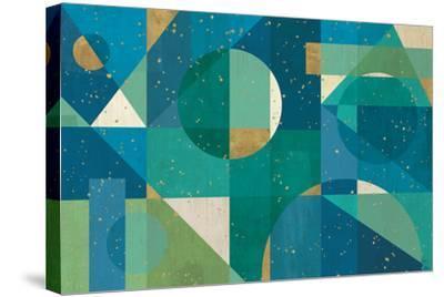 Geo Contour I-Veronique Charron-Stretched Canvas Print