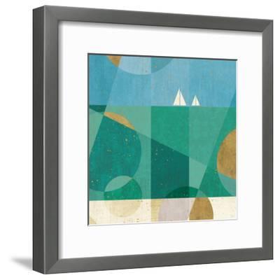 Seascape IV-Veronique Charron-Framed Art Print